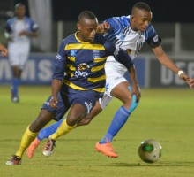 20130819 sports Varsity Cup Soccer NWU plays UWC in Mafikeng.
