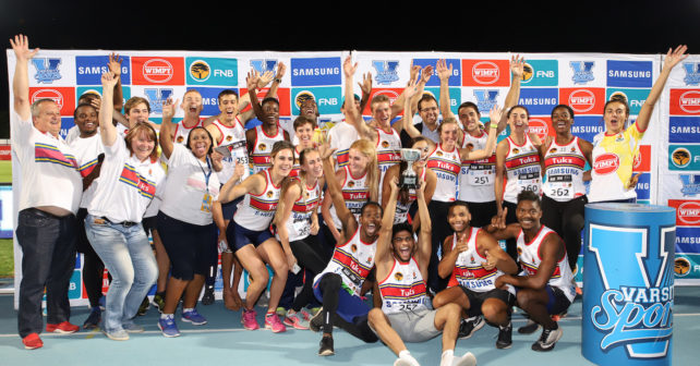 Tuks Overall Winners , At Tuks Athletics, Friday 2 March 2018