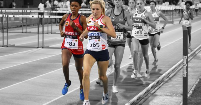 Women's 1500m, At Tuks Athletics, Friday 2 March 2018