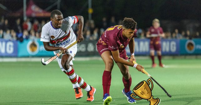 Maties during Varsity Hockey match between Maties and UP Tuks at Maties Astro, Stellenbosch in Cape Town on May 21, 2018