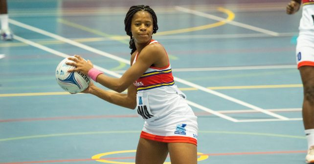 Tshinakaho Mdau of TUKS during TUKS v UJ on 9 Sept 18-10