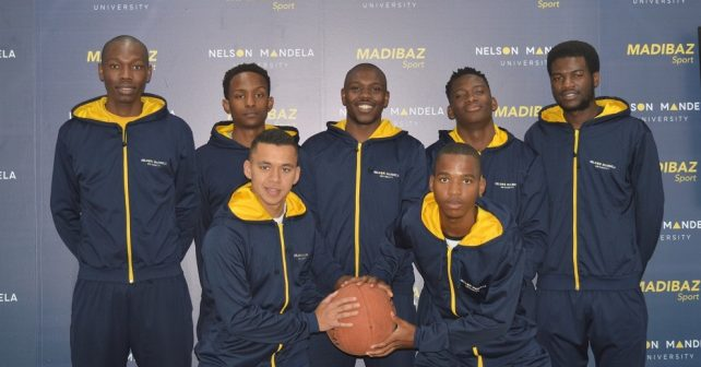 Madibaz basketball team LR
