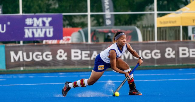 Tuks during the Varsity Hockey match at NWU Astro in Potchefstroom on May 10, 2019