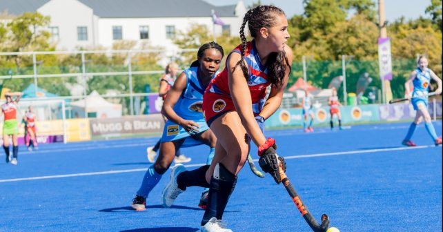 Kovsies during the Varsity Hockey match at NWU Astro in Potchefstroom on May 12, 2019