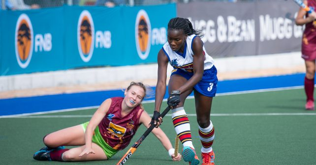 UP-Tuks Hockey striker Onthatile Zulu claimed the FNB Varsity Hockey Player of the Tournament award for 2019