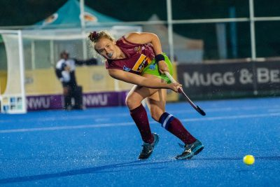 Paige Phillips of Maties during the Varsity Hockey match at NWU Astro in Potchefstroom on May 10, 2019