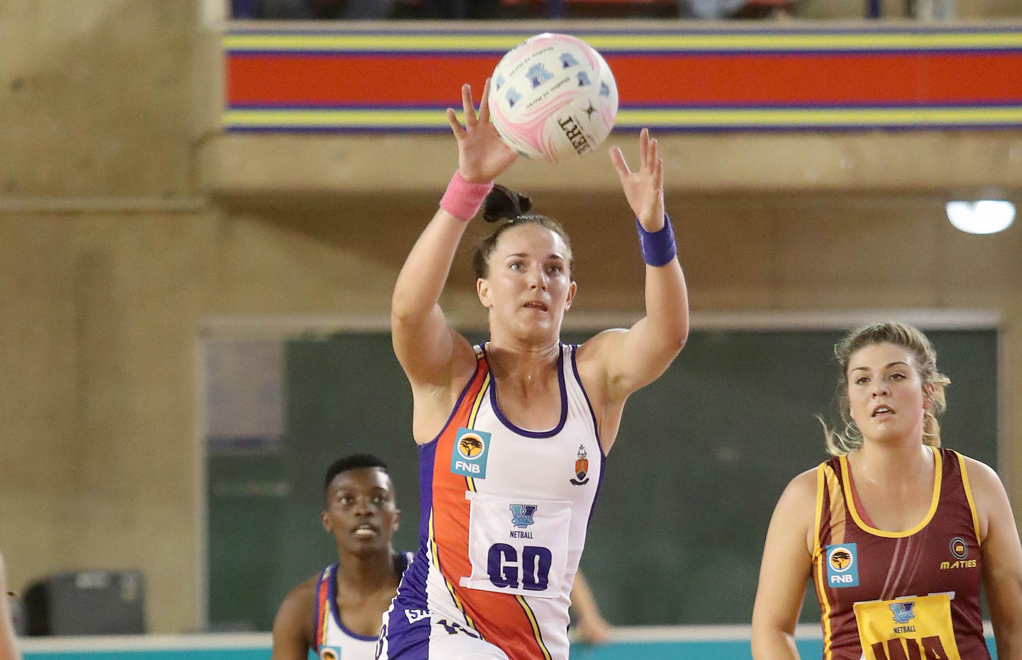Van der Merwe wants to end her playing career at UP-Tuks with a Varsity Netball title